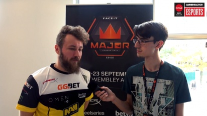 Faceit Major - Edward Interview
