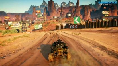 Rage 2 - Gameplay aérien et en bagnole