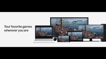 Stadia - Multiscreen Feature - Assassin's Creed Odyssey Example