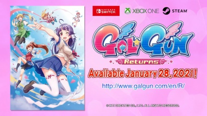 Gal Gun Returns - World Premiere Trailer