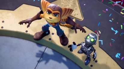Ratchet & Clank: Rift Apart - Bande-annonce de gameplay (4K/PS5)