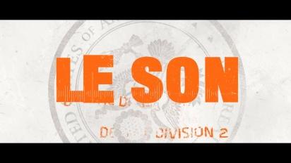 The Division 2 - Le son dans le jeu
