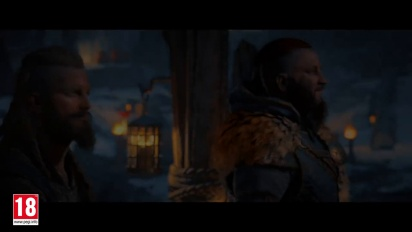 Assassin's Creed Valhalla : Story Trailer en français