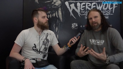 Werewolf: The Apocalypse - Martin Ericsson Interview