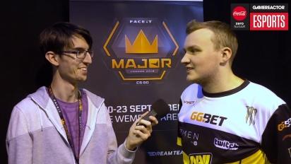 Faceit Major - Flamie Interview