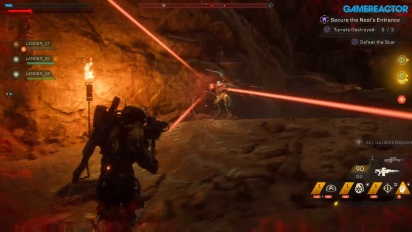 Anthem - Sécuriser le nid - Gameplay Part 1