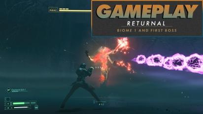 Returnal - How to kill Phrike boss full cycle in Full HD