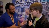 Police Simulator 18 - Itw de Pedro Pinho