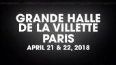 PLAY Paris - 21 et 22 AVRIL 2018