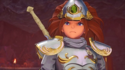 Trials of Mana -  The Sacred Sword Trailer