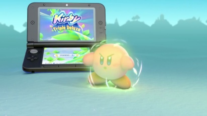 Kirby: Triple Deluxe - TV Commercial