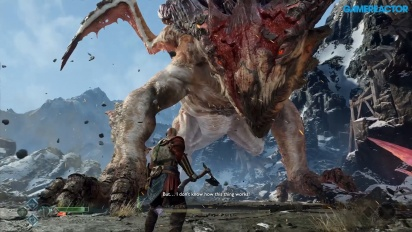 God of War - How to Kill a Dragon (Spoilers)