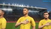 Pro Evolution Soccer 2018 - Brazil National Team Intro with National Anthem