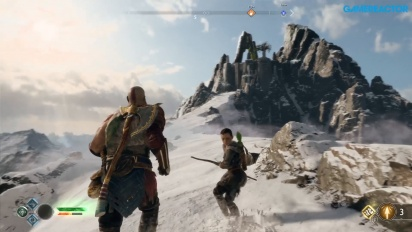 God of War - Get to the Mountain Top (Spoilers)
