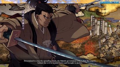 Samurai Shodown - Jubei Yagyu en démonstration