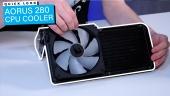 Aorus 280 CPU Cooler - Notre aperçu