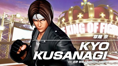 The King of Fighters XV - Kyo Kusanagi Character Trailer