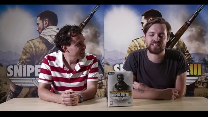 Sniper Elite 3 - Limeted Edition Dev Unboxing