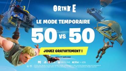 Fortnite Battle Royale - Le mode 50vs50