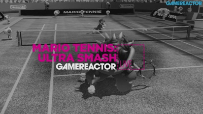 Mario Tennis Ultra Smash - Livestream Replay