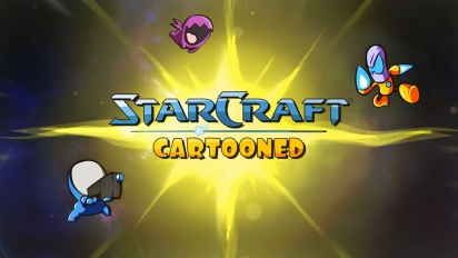 StarCraft: Cartooned - Available Now