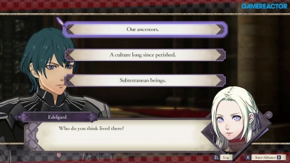 Fire Emblem: Three Houses - Conversational Gameplay