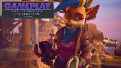 Crash Bandicoot 4: It's About Time - Tawna Gameplay