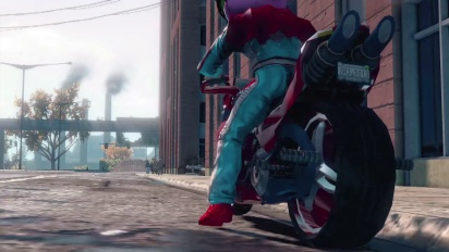 Saints Row: The Third - Genki Bike Jump Trailer