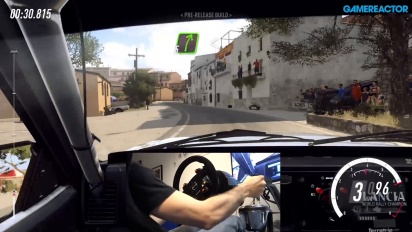 Dirt Rally 2.0 - Du gameplay sur l'asphalte