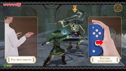 The Legend of Zelda: Skyward Sword HD - Améliorations de confort (Nintendo Switch)