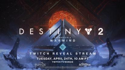 Destiny 2 - Warmind Reveal Teaser