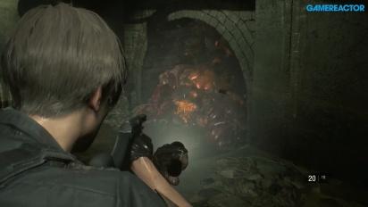 Resident Evil 2 - Leon S. Kennedy en action