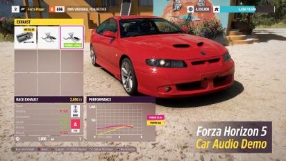 Forza Horizon 5 Audible Upgrades - Trailer Dev Diary