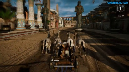 Assassin's Creed Origins - Courses de chariots