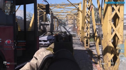 Call of Duty: Modern Warfare - Du gameplay co-op sur le Pont de l'Euphrate