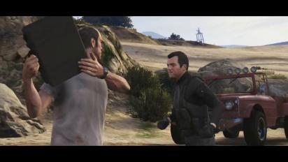 Grand Theft Auto V - PS5 Announcement Trailer