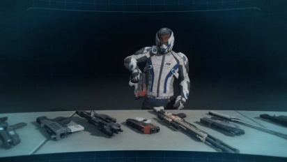 Mass Effect: Andromeda - Weapons Training Briefing