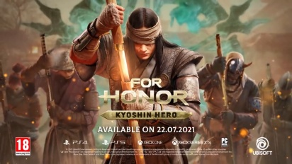 For Honor - Become a Kyoshin Reveal Trailer