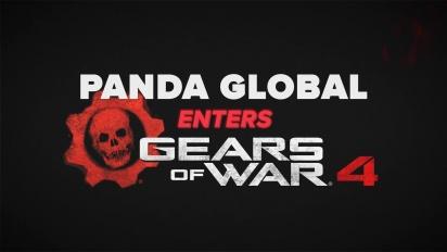 Panda Global Enters Gears of War 4