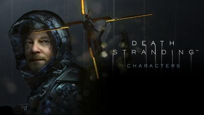 Death Stranding - Les personnages (Contenu sponsorisé #2)
