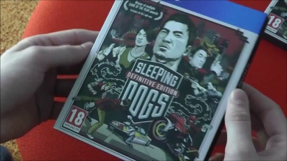 Sleeping Dogs - Definitive Edition Day One Edition Unboxing