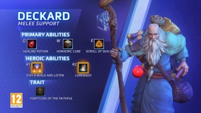 Heroes of The Storm - Deckard Cain VOST