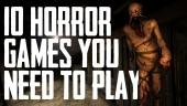 Les 10 jeux d'horreur de cette génération !