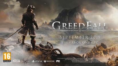 Greedfall - Story Trailer