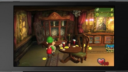 Luigi's Mansion - Nintendo Direct 3DS Trailer