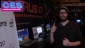 CES20 - Gigabyte Laptop Tour