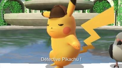 Résolvez des mystères avec Detective Pikachu - Trailer fr