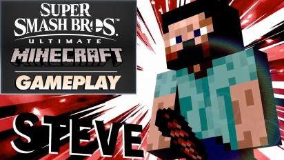 Super Smash Bros. Ultimate x Minecraft - Gameplay