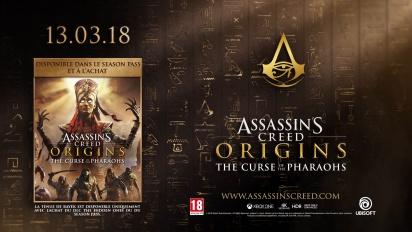 Assassin s Creed Origins - The Curse of the Pharaohs - Trailer de lancement