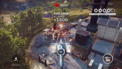 Just Cause 3 - Helicopter Frenzy 1 Challenge